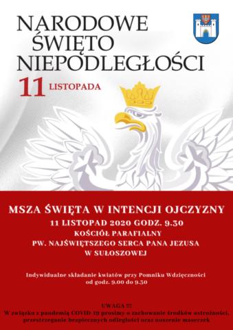 Święto Niepodległości 2020