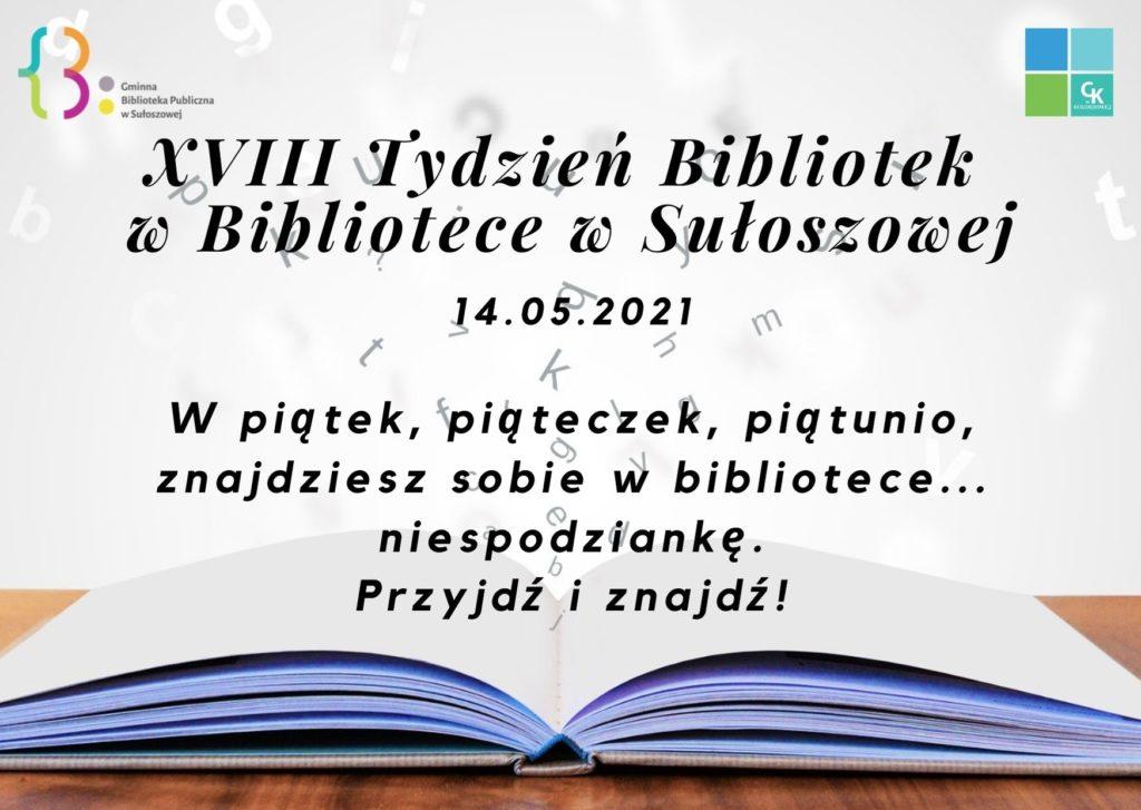 Tydzień Bibliotek 2021 piątek