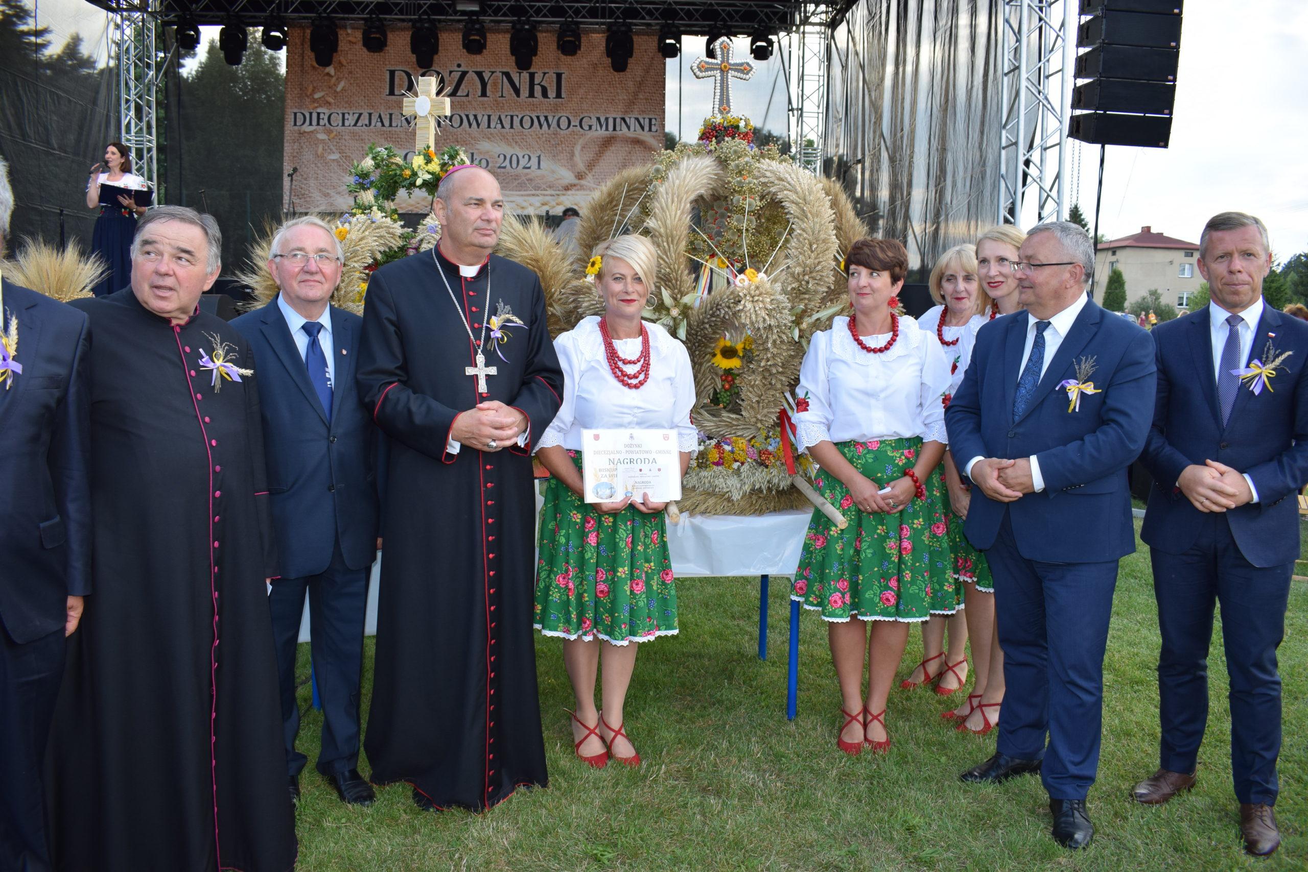 Dożynki Diecezjalne Chechło 2021